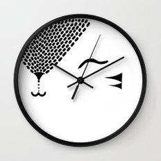 Cute Tiger / Cat Wall Clock