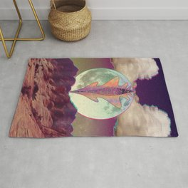 A Vulnerable Moon on a Superficial Night Rug