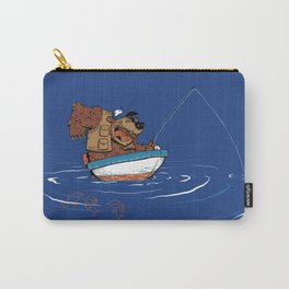 Bear Fishing Carry-All Pouch