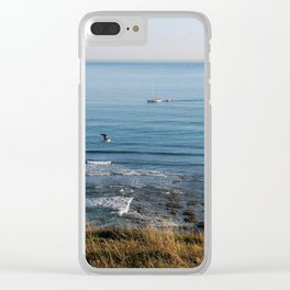 Afternoon by the Sea Clear iPhone Case