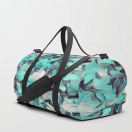 Confetti Caribbean Aqua Duffle Bag