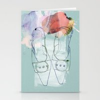 shoes Stationery Cards featuring shoes by Sabine Israel