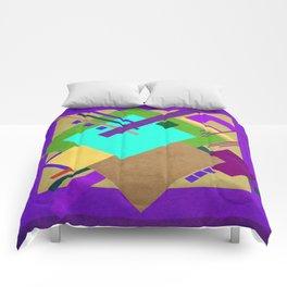 Geometric illustration 41 Comforters
