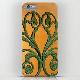 Green Iron Gate 1 iPhone Case