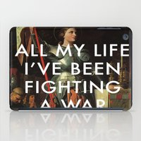 lorde iPad Cases featuring Joan's Bravado by Lorde Art History