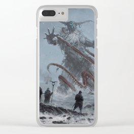 Ymaar - the ancient protector Clear iPhone Case