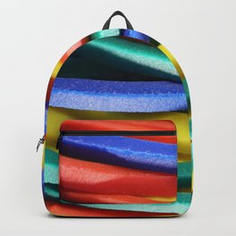 Colored Rubbers Stack Backpack