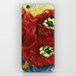 Three Poppies by Lena Owens @OLena Art #Society6 iPhone Skin
