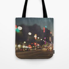 Hollywood Boulevard. Los Angeles Tote Bag