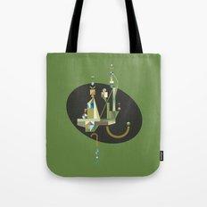 absinthe: green Tote Bag