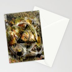Moss Abstract  Stationery Cards