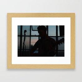 Sacramento Sunset 2 Framed Art Print