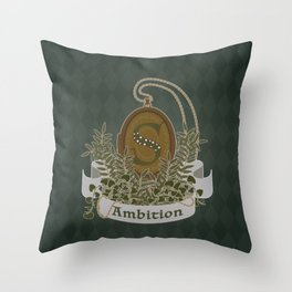 Locket of Ambition Throw Pillow