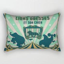 CIRQUE PRICE BLEU Rectangular Pillow