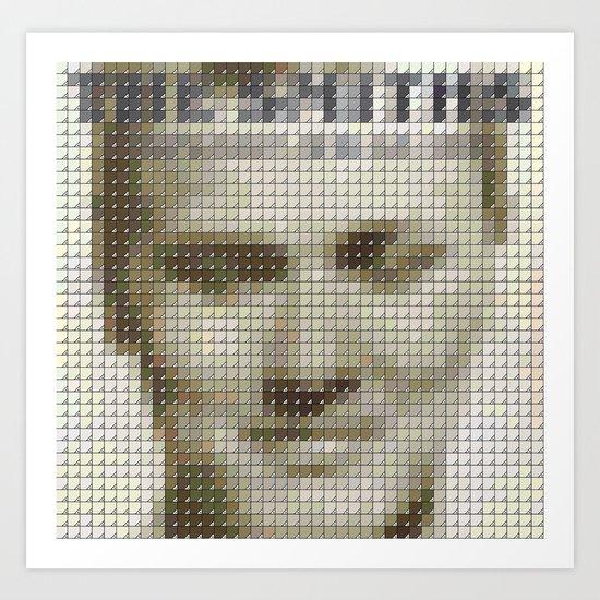 The Smiths - Strangeways, Here we come - Pantone Pop Art Print
