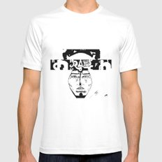Don D. Rapper Mens Fitted Tee White MEDIUM