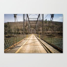 Silent Bridge Canvas Print