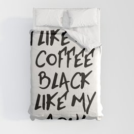 Black like my soul Comforters
