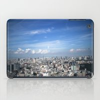 tokyo iPad Cases featuring tokyo by signe constable