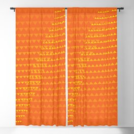 Summer colors pattern Blackout Curtain