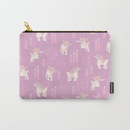 The Kids Are Alright - Pastel Pinks Carry-All Pouch