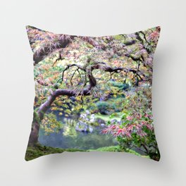 Autumn Maple Throw Pillow