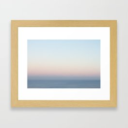 November Sunset Framed Art Print