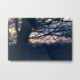 Sunset in Drawsko 3 Metal Print
