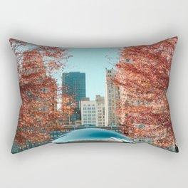 Chicago Cloud Gate Rectangular Pillow