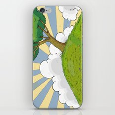 I want to be there iPhone & iPod Skin