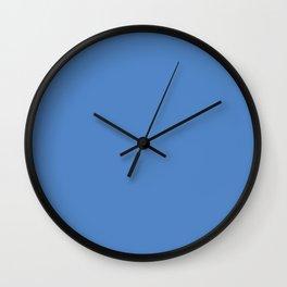 Pantone 17-4041 Marina Wall Clock