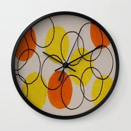 Circles Circles Wall Clock