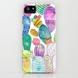 Cactus King iPhone Case