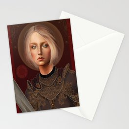 St. Joan of Arc Stationery Cards