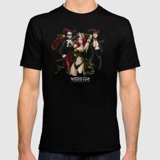 the Gotham Sirens X-LARGE Black Mens Fitted Tee