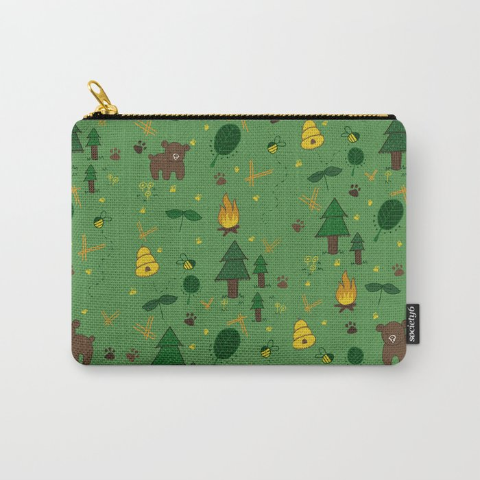 forest bears Carry-All Pouch