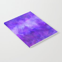 Dappled Blue Violet Abstract Notebook