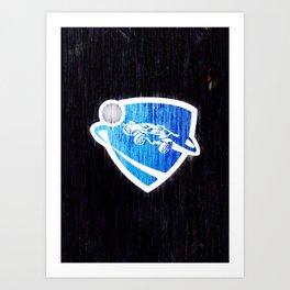 Rocket League Art Print