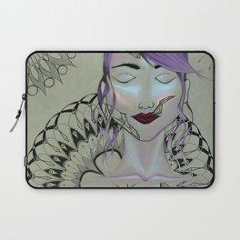 Purple Mandalas Laptop Sleeve