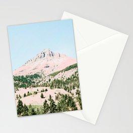 Happy Mountain #society6 #decor #buyart Stationery Cards