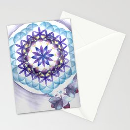 Levender Mandala Stationery Cards