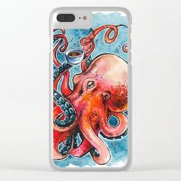 Octorista Clear iPhone Case