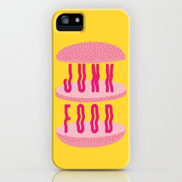 Junk Food. iPhone Case