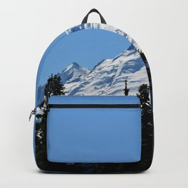 Snow Cap on the Mountain Backpack