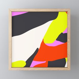 Blind Neon Framed Mini Art Print