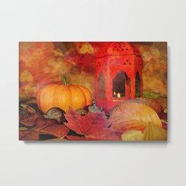 Fall backround Metal Print