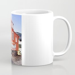Lil Red Caboose -Wellsboro Ave Hurley ArtRave Coffee Mug