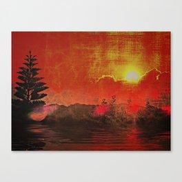Oriental Landscape Canvas Print