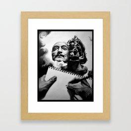 Let's study the Master Framed Art Print