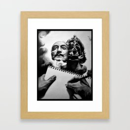 Let's study the Master Framed Art Print